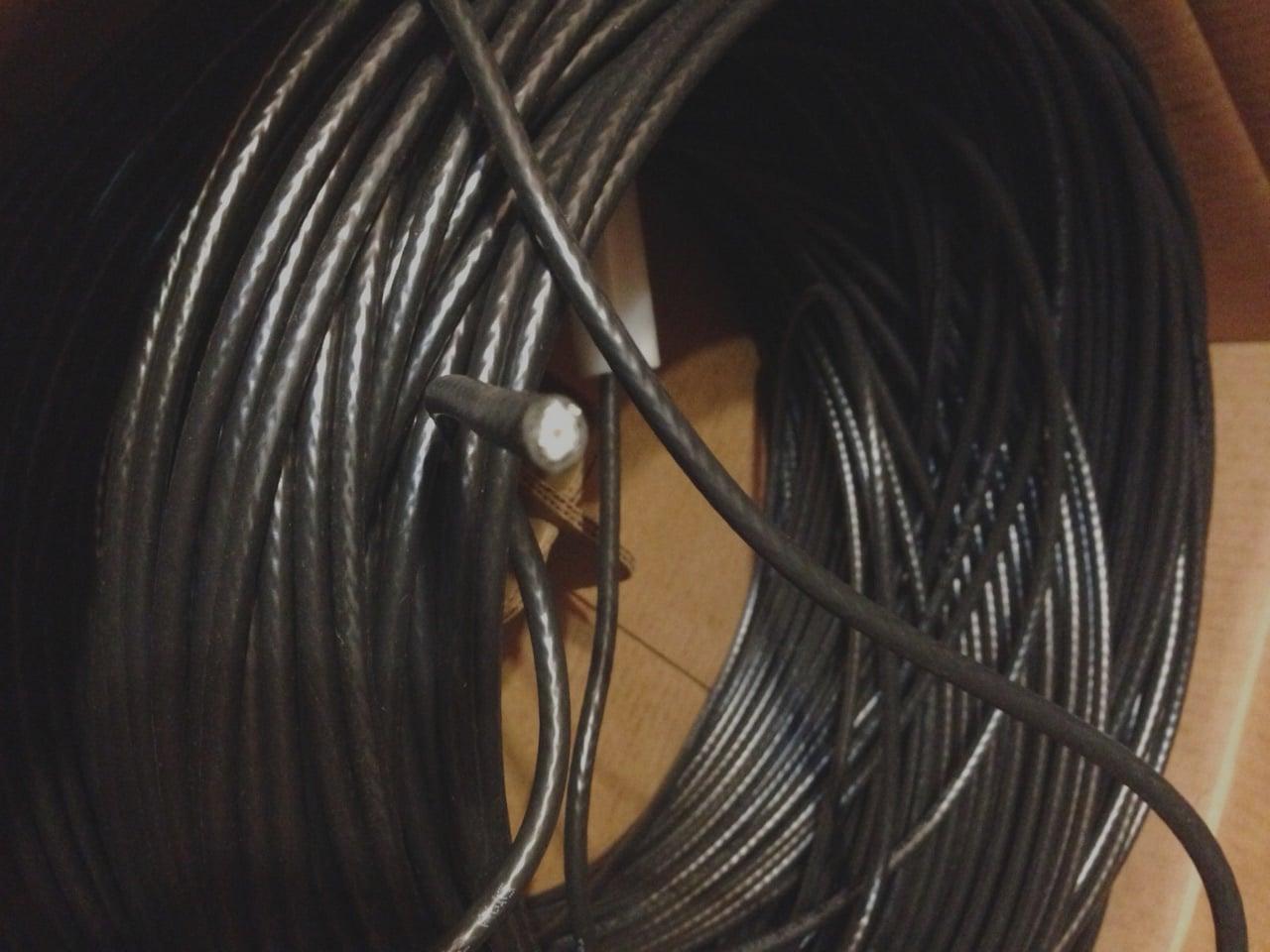 CommScope Community Antenna Television Coax Wire