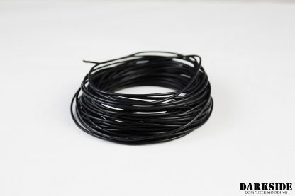 22AWG FT1 Wire - Black (Fans and LED)