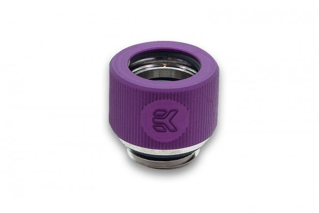EK-HDC Fitting 12mm G1/4 - Purple
