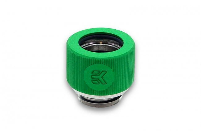 EK-HDC Fitting 12mm G1/4 - Green