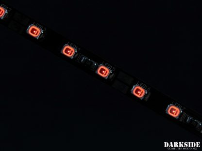 """12"""" (30cm) DarkSide CONNECT G2 Dimmable Rigid LED Strip - RED G2-4"""