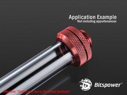 "G1/4"" Enhance Multi-Link For OD 16MM - Deep Blood Red-4"
