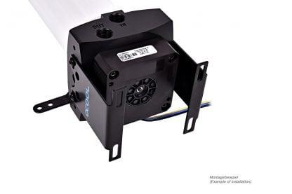 Eisbecher DDC 150mm Reservoir with pump mount - Acetal 15187-4