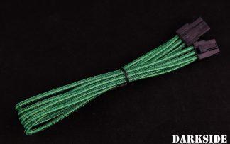 6-Pin PCI-E DarkSide HSL Single Braid MF Cable - Commando (UV)