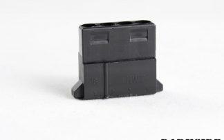 4-pin Female MOLEX Connector -Black
