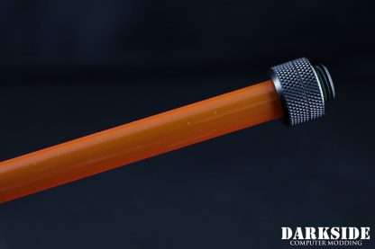 Red-Orange PETG Hard Tube 10/8mm - 500mm