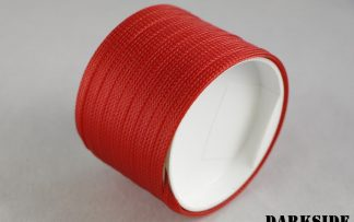 "1/4"" (6mm) DarkSide High Density Cable Sleeving - Red UV 1Ft"