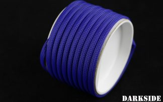 "1/4"" (6mm) DarkSide High Density Cable Sleeving - Dark Blue 1Ft"