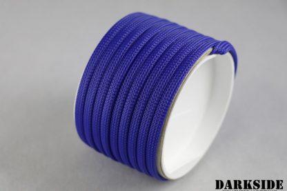 "1/4"" (6mm) DarkSide High Density Cable Sleeving - Dark Blue 1Ft-2"