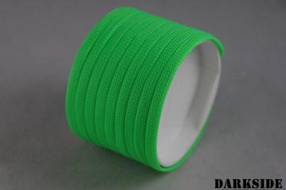 "1/4"" ( 6mm ) DarkSide High Density Cable Sleeving - Green UV"