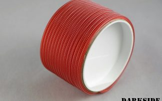 "5/32"" (4mm) DarkSide HD Cable Sleeving - Opaque Red"