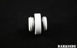 5mm Spacer Adapter - Male-Male G1/4 - White
