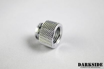 10mm Spacer Adapter - Male-Female G1/4 - Chrome-2