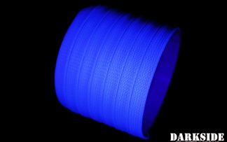 10mm HD SATA Cable Sleeving - Aqua Blue UV
