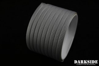 """1/4"""" ( 6mm ) DarkSide High Density Cable Sleeving - Titanium Gray"""