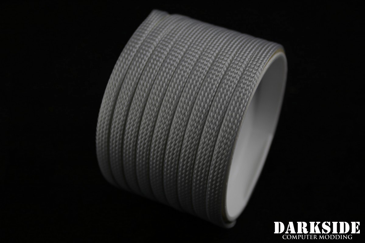 "1/4"" ( 6mm ) DarkSide High Density Cable Sleeving - Titanium Gray"