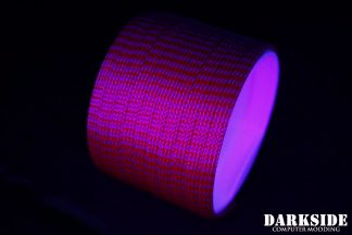 "1/4"" ( 6mm ) DarkSide High Density Cable Sleeving - Lava II UV"