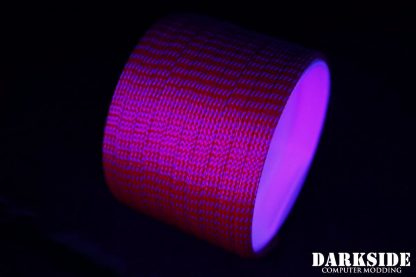 "1/4"" ( 6mm ) DarkSide High Density Cable Sleeving - Lava II UV"