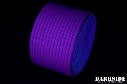 "5/32"" (4mm) DarkSide HD Cable Sleeving - Violet UV"