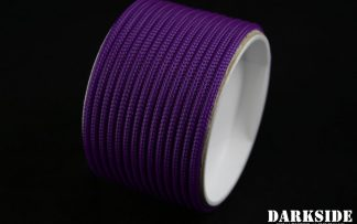"5/32"" (4mm) DarkSide HD Cable Sleeving - Violet UV-2"