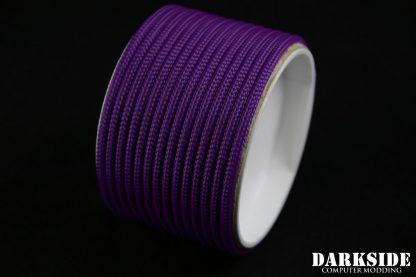 "5/32"" (4mm) DarkSide HD Cable Sleeving - Violet UV-2"