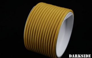 "5/32"" (4mm) DarkSide HD Cable Sleeving - Gold II"