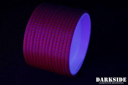 "5/32"" (4mm) DarkSide HD Cable Sleeving - Lava II UV"