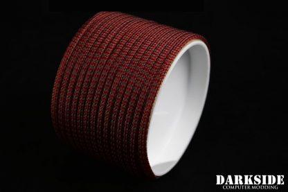 "5/32"" (4mm) DarkSide HD Cable Sleeving - Lava II UV-2"