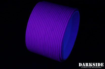 "5/64"" ( 2mm ) DarkSide HD Cable Sleeving - Violet UV"