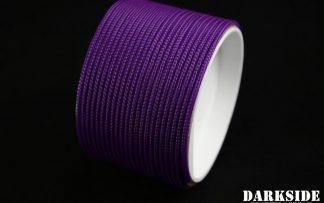 "5/64"" ( 2mm ) DarkSide HD Cable Sleeving - Violet UV-2"