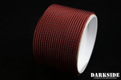 "5/64"" ( 2mm ) DarkSide HD Cable Sleeving - Lava II UV-2"