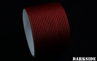"5/64"" ( 2mm ) DarkSide HD Cable Sleeving - Metallic Red"