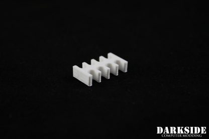8-pin Cable Management Holder Comb - White