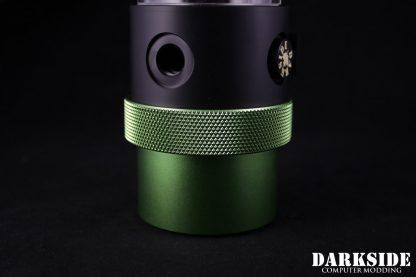 D5 BARREL185  Reservoir-Top Combo -Black  (pump installation optional) SMALL Rev2-5