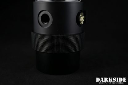 D5 BARREL 220  Reservoir-Top Combo -Black  (pump installation optional) MEDIUM Rev2-4