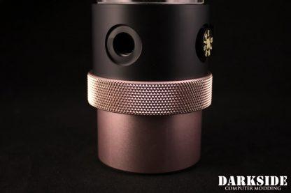 D5 BARREL 220  Reservoir-Top Combo -Black  (pump installation optional) MEDIUM Rev2-9