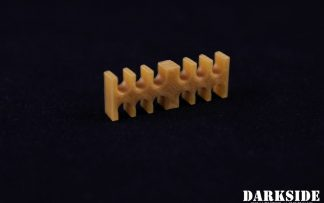 12-pin Cable Management Holder Comb - Gold