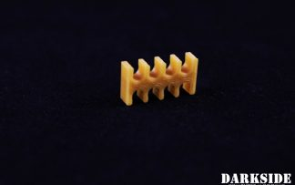 8-pin Cable Management Holder Comb - Gold
