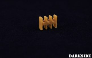 6-pin Cable Management Holder Comb - Gold