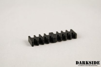 16-pin Cable Management Holder Comb - Black-2
