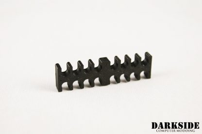 14-pin Cable Management Holder Comb - Black