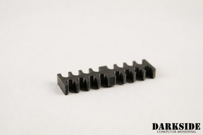 14-pin Cable Management Holder Comb - Black-2