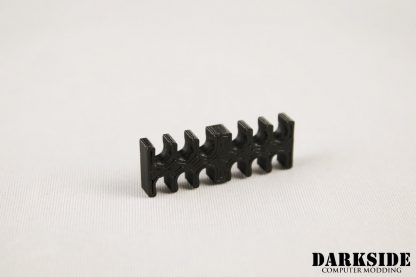 12-pin Cable Management Holder Comb - Black