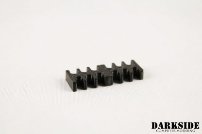 12-pin Cable Management Holder Comb - Black-2