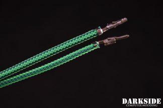 12' (30cm) Male-Female Pre-Sleeved ATX and  PCI-E Wire -Commando UV