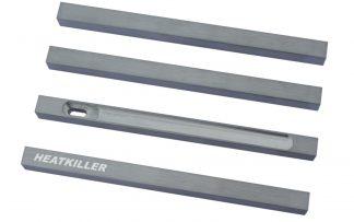 HEATKILLER® Tube - stuts 150mm - raw aluminum