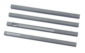HEATKILLER® Tube - stuts 200mm - raw aluminum