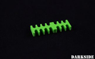 14-pin Cable Management Holder Comb - Green