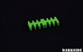 12-pin Cable Management Holder Comb - Green