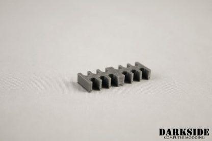 12-pin Cable Management Holder Comb - Gun Metal-2